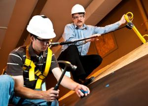 Dr. Daniel Hindman has spent the last eight years researching ways to help make the construction industry safer by reducing the number of worker falls.